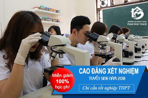 tuyển sinh cao đẳng xét nghiệm Đà Nẵng 2018