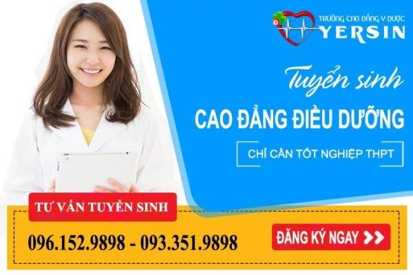 Chuyên ngành đào tạo cao đẳng điều dưỡng Đà Nẵng
