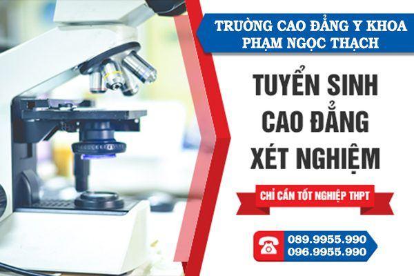 Tuyển sinh Cao đẳng xét nghiệm Hà Nội năm 2018