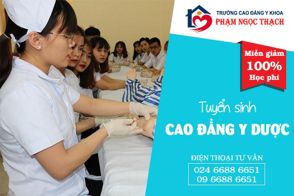 Tuyển sinh Cao Đẳng Y Dược tại quận Ngũ Hành Sơn, TP Đà Nẵng 2018