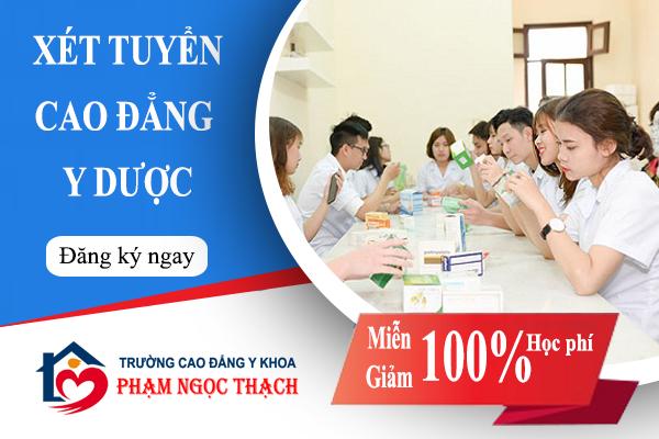Tuyển sinh Cao Đẳng Y Dược tại Huyện Hoàng Sa, Đà Nẵng 2018