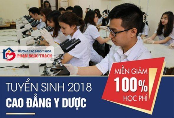 Điểm chuẩn năm 2018 cao đẳng y