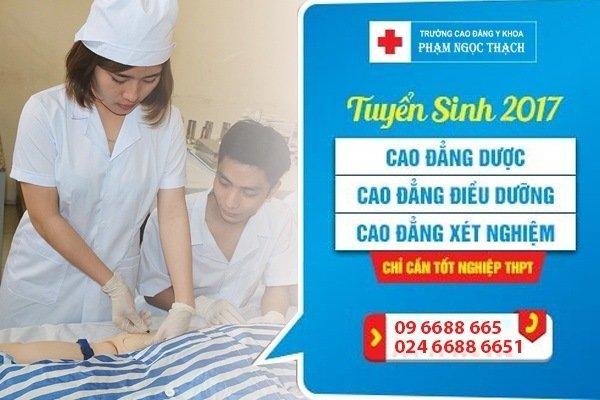 Cao đẳng điều dưỡng Hà Nội xét tuyển học bạ năm 2018