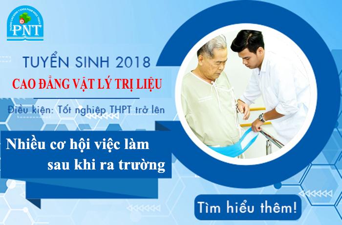 Học phí cao đẳng Vật lý trị liệu Hà Nội