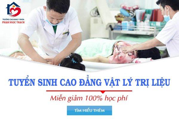 Tuyển sinh cao đẳng vật lý trị liệu Hà Nội
